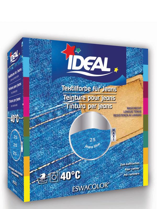 Teinture textile pour jeans bleu maxi 25 ideal eswacolor shop online - Teinture textile ideal ...