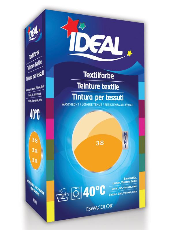 Teinture textile mandarine pour coton lin viscose soie mini 38 ideal e - Teinture pour tissu coton ...