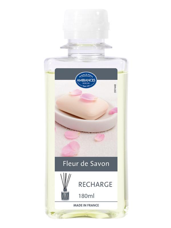 recharge brin fleur de savon 180ml ambiances berger bouquets parfum 233 s all4home ch