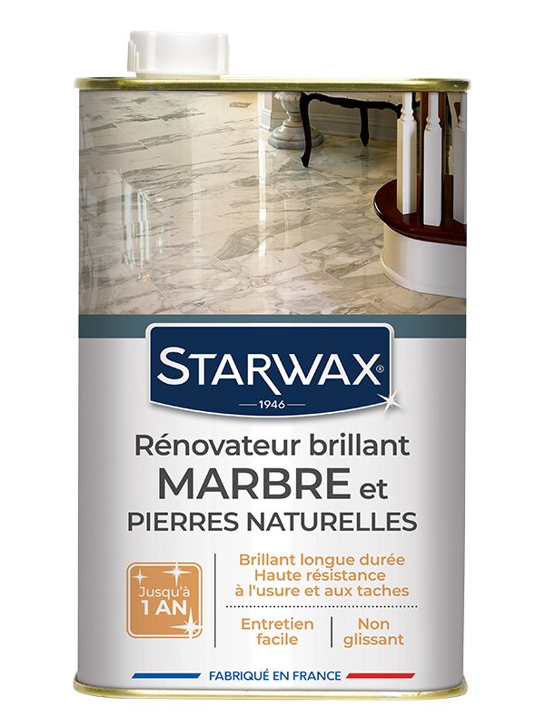 r novateur brillant protecteur marbres pierres naturelles 1l starwax shop online. Black Bedroom Furniture Sets. Home Design Ideas