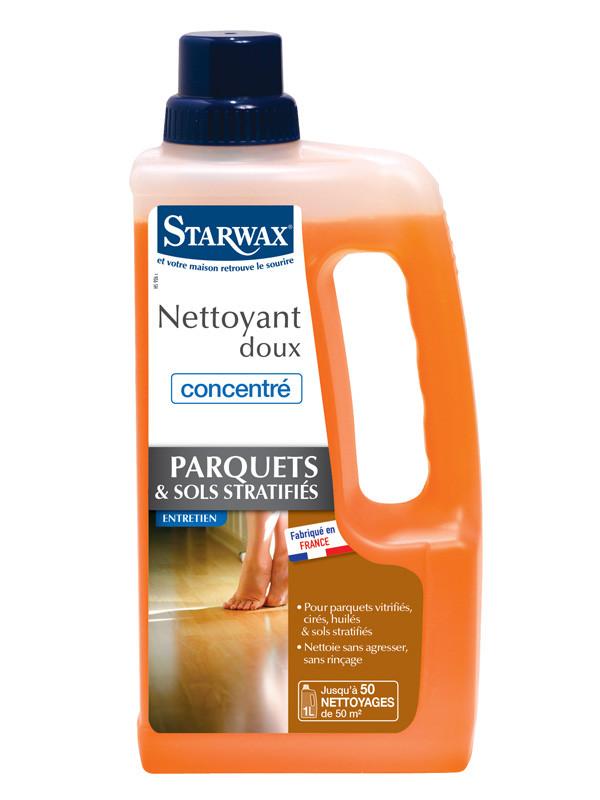Nettoyant concentr parquets sols stratifi s 1l - Nettoyage parquet stratifie ...