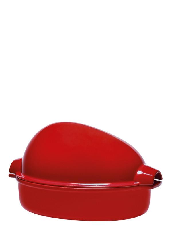 brique r tir rouge 34x24cm emile henry shop online. Black Bedroom Furniture Sets. Home Design Ideas